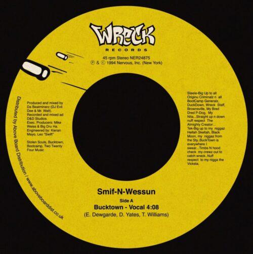 Smif-N-Wessun - Bucktown - NER24875 - NERVOUS RECORDS