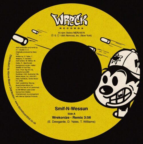 Smif-N-Wessun - Wrekonize (Remix) - NER24876 - NERVOUS RECORDS