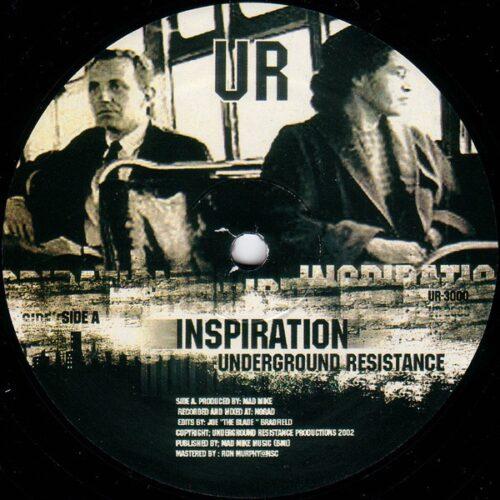 Underground Resistance - Inspiration/ Transition - UR3000 - UNDERGROUND RESISTANCE