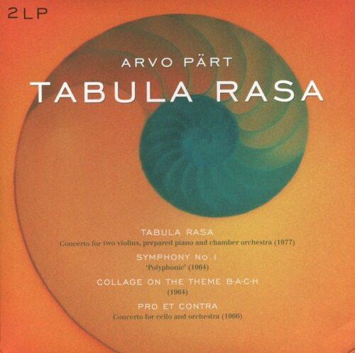 Arvo Pärt - Tabula Rasa/Symphony.. - 8712177059911 - VINYL PASSION