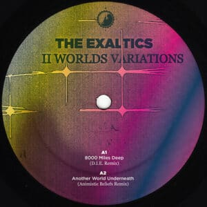The Exaltics - 2 Worlds Variations - CWCS014.1 - Clone West Coast Series ‎