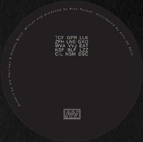 Malin Genie - Eschaton EP - VGNR06 - VIGENERE
