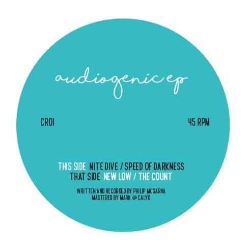 Philip McGarva - Audiogenic EP - CR01 - CACHET RECORDINGS