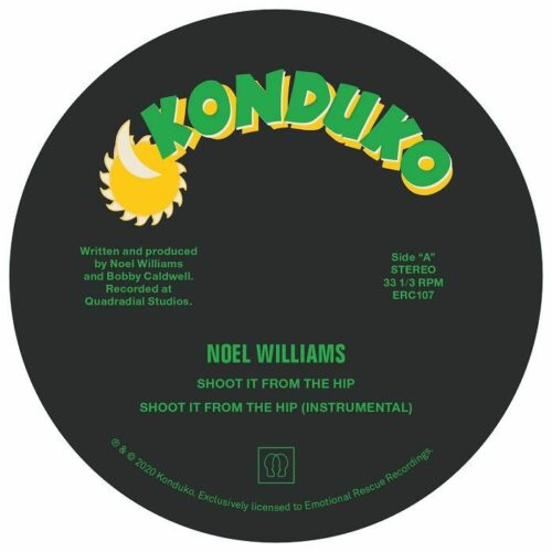 Noel Williams - Shoot From The Hip (Diesel/Jarvis mix) - ERC107 - EMOTIONAL RESCUE