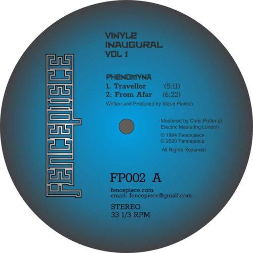 Phenomyna / Stasis - Vinyle Inaugural Vol 1 - FENCE002 - FENCEPIECE MUSIC