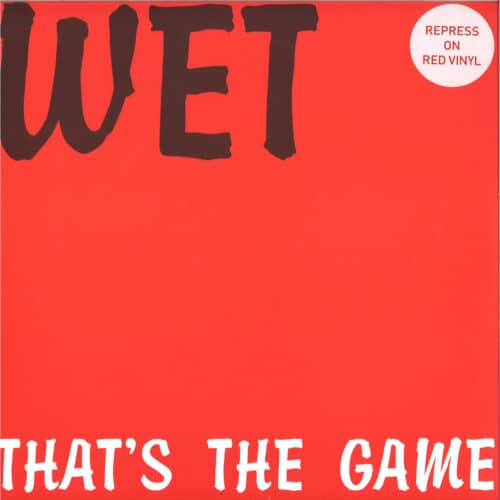 Wet - That's The Game - STD1201 - STD RECORDS