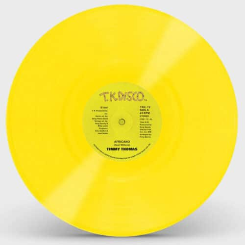 Timmy Thomas - Africano - TKD072YELLOW - TK DISCO