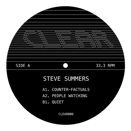 Steve Summers - Counter-Factuals - CLEAR006 - CLEAR