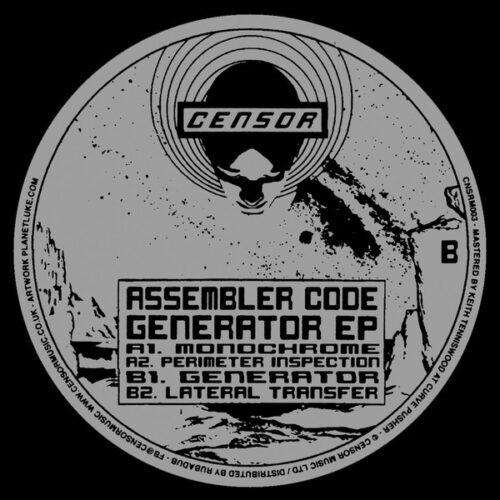 Assembler Code - Generator EP - CNSRM003 - CENSOR