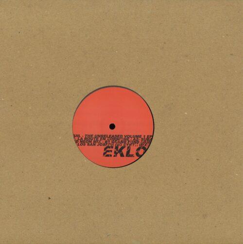 Seuil - The Unreleased Volume 1 EP - EKLO042 - EKLO RECORDS
