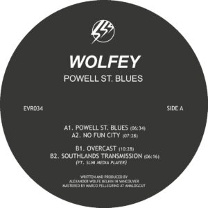 Wolfey - Powell St. Blues - EVR034 - ECHOVOLT RECORDS