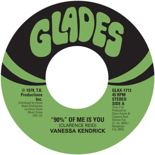Vanessa Kendrick/Gwen McCrae - 90% Of Me Is You - GLADES17-13 - GLADES