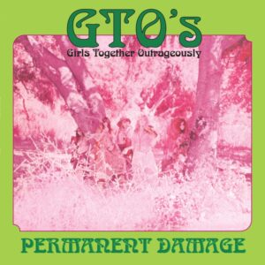 GTO's/Frank Zappa - Permanent Damage - GSGZ024LP - DIGGERS FACTORY/GREY SCALE