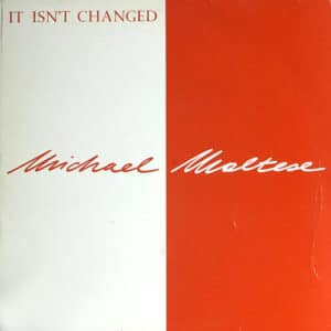 Michael Maltese - It Isn't Changed - MAXI1038-12 - ZYX RECORDS