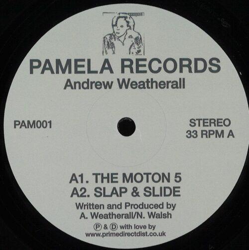 Andrew Weatherall - Pamela 1 - PAM001 - PAMELA RECORDS