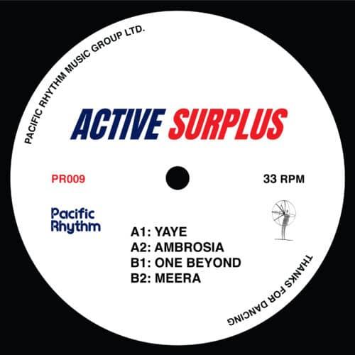 Active Surplus - Active Surplus - PR009 - PACIFIC RHYTHM
