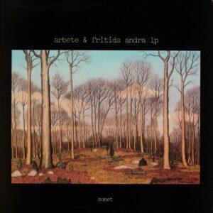 Arbete Och Fritid - Arbete & Fritids Andra LP - SLP-2526 - SONET
