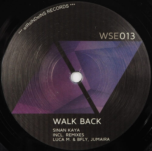 Sinan Kaya - Walk Back - WSE013 - WIRSINDEINS RECORDS