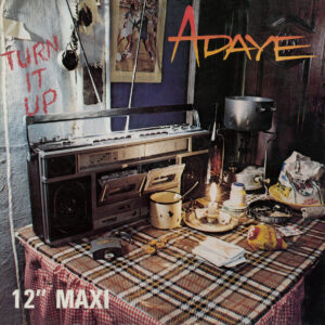 Adaye - Turn It Up - AFS038 - AFROSYNTH