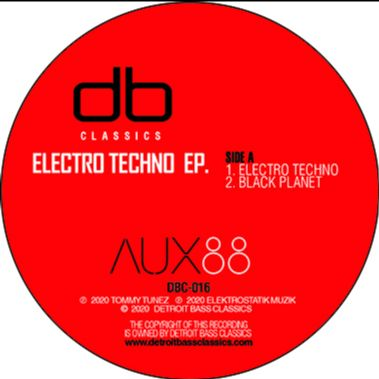 Aux88 - Electro Techno EP - DBC-016 - DETROIT BASS CLASSICS