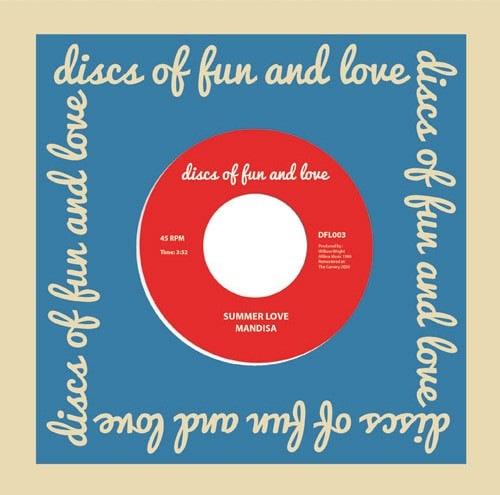 Mandisa - Summer Love - DFL003 - DISCS OF FUN AND LOVE