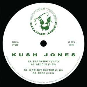 Kush Jones - Kush Jones - FT055 - FUTURE TIMES