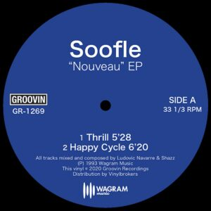 Soofle - Nouveai EP - GR-1269 - GROOVIN RECORDS