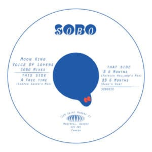 Moon King - Voice of Lovers SOBO Mixes - SOBO-010 - Sobo