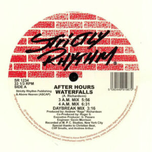 After Hours - Waterfalls - SR1234WHITE - STRICTLY RHYTHM