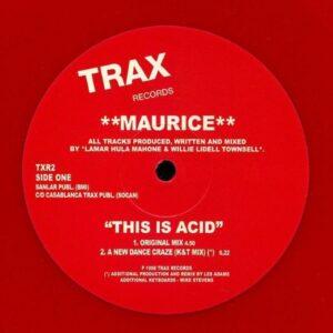 Maurice - This Is Acid - TXR2 - TRAX