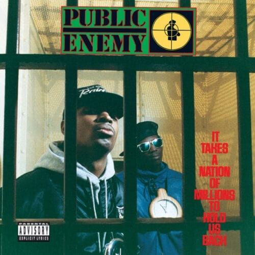 Public Enemy - It Takes a Nation of Millions to Hold Us Back - 600753468210 - DEF JAM