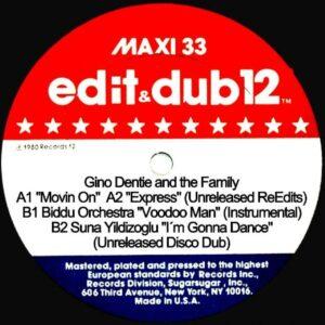 Edit & Dub - 12 Movin On - EDITDUB12 - EDIT & DUB RECORDINGS