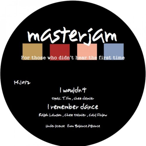 Various/Ron Trent/Chez Damier/Terrence FM/Ralp Lawson/Carl Finlow - Master Jam EP - MJ02 - MASTER JAMS