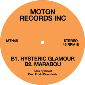 Moton Records Inc - MTN45 - MTN045 - MOTON