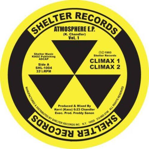 Kerri Chandler - Atmosphere Ep (yellow Vinyl Repress) - SHL1004YELLOW - SHELTER