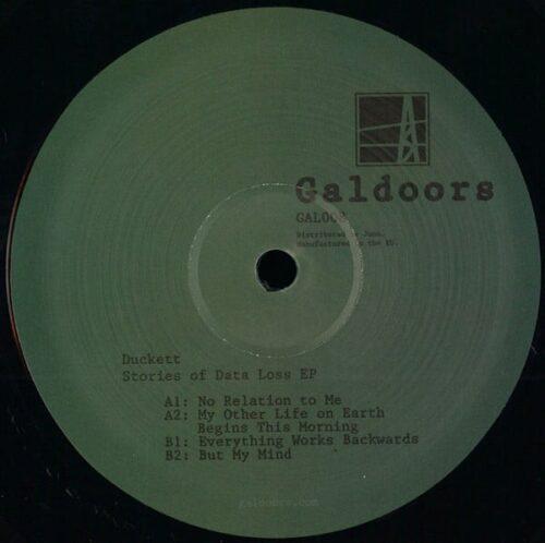 Duckett - Stories of Data Loss Ep - GAL008 - GALDOORS