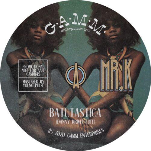 Danny Krivit/Mr K - Batutastica/ Jungle - GAMM149 - GAMM
