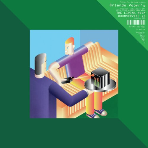 The Living Room/Orlando Voorn - Roomservice +3 - MPD027 - MUSIQUE POUR LA DANSE