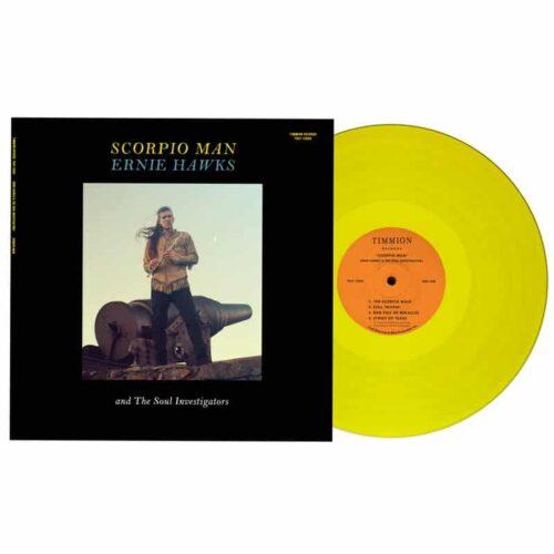 Ernie Hawks/The Soul Investigators - Scorpio Man (Limited Colored) - TRLP12005C - TIMMION
