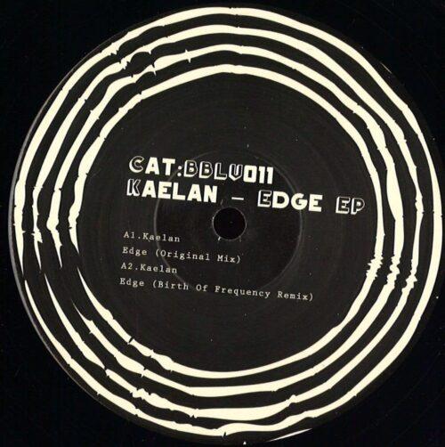 Kaelan - Edge Ep - BBLV011 - BLACK BROOK LIMITED