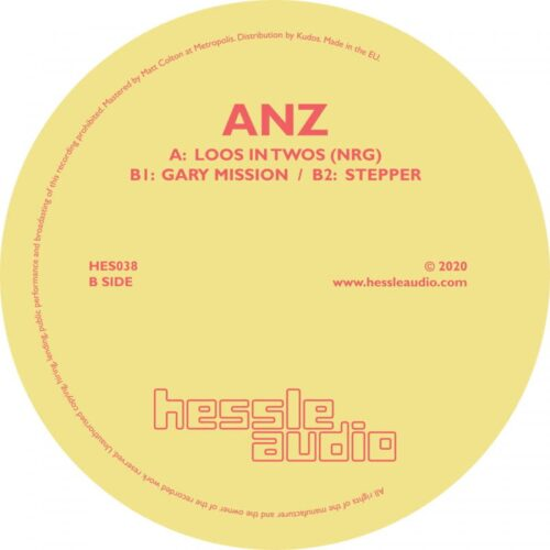 Anz - Loos In Twos - HES038 - HESSLE AUDIO