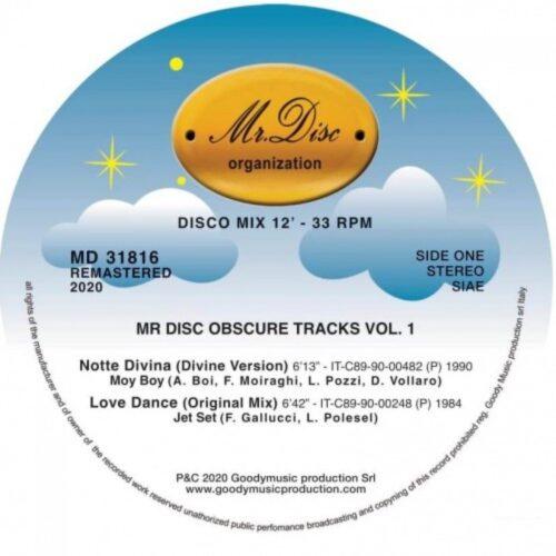 Moy Boy/Jet Set/Jimmy Ross/Stephany - Mr Disco Obscure Tracks Vol 1 - MD31816 - MR DISC