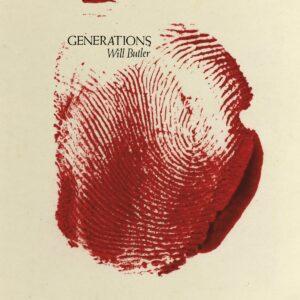 Will Butler - Generations (Ltd blood red splatter on milky white coloured vinyl) - MRG720LP-C1 - MERGE