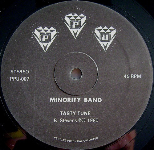 Minority Band - Tasty Tune - PPU007 - PEOPLES POTENTIAL
