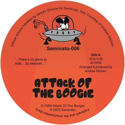 Andrew Kitchen - Attack Of The Boogie - SEMINATO-006 - SEMINATO