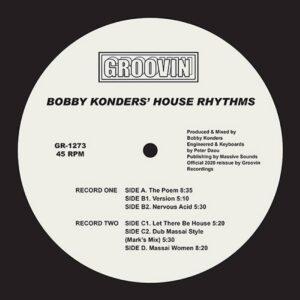 Bobby Konders - House Rhythms - GR1273 - GROOVIN RECORDINGS
