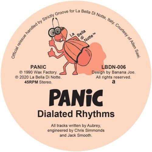 Panic/Aubrey - Dialated Rhythms / Last Injection - LBDN006 - LA BELLA DI NOTTE