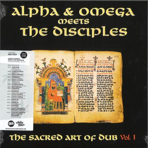 Alpha & Omega Meets The Disciples - Sacred Art Of Dub Volume 1 - MD017 - MANIA DUB