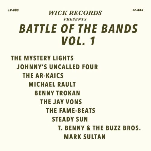 Various - Wick Records: Battle of the Bands Vol 1 - WCK005 - WICK