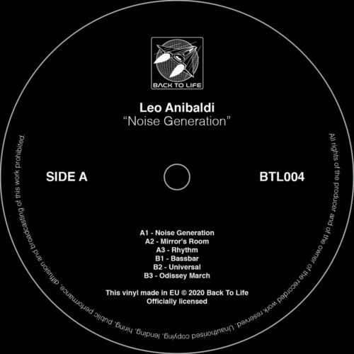 Leo Anibaldi - Noise Generation - BTL004 - BACK TO LIFE